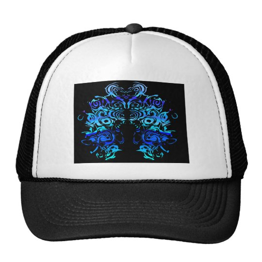 Blue Lion Head Cap