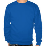 Blue Lion Menorah Pullover Sweatshirts
