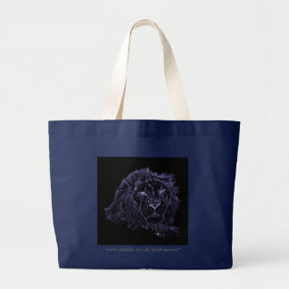 Blue Lion on a Tote