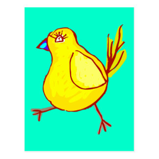 Blue Lipped Chick Post Cards