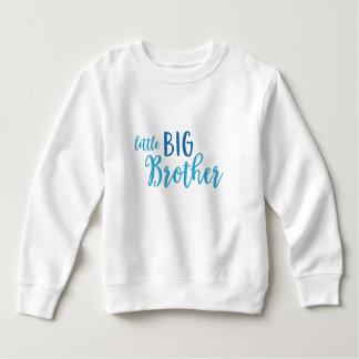 Blue Little Big Brother Toddler Fleece Sweatshirt