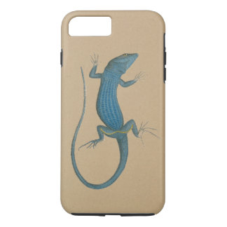 Blue lizard, geko - Capri - Faraglioni iPhone 8 Plus/7 Plus Case
