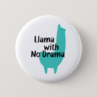 Blue Llama Button