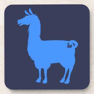 Blue Llama Coasters