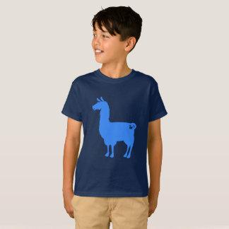 Blue Llama Kids T-Shirt