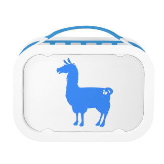 Blue Llama Lunch Box
