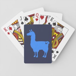 Blue Llama Playing Cards
