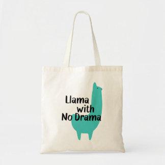 Blue Llama Tote