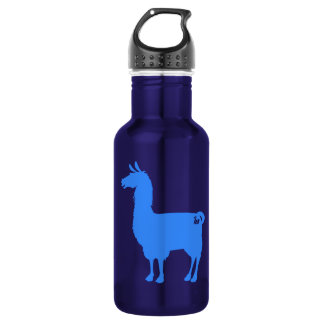 Blue Llama Water Bottle