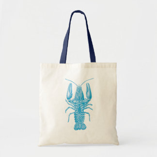 Blue Lobster Tote Bag