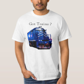 Blue Locomotive Tee Shirts