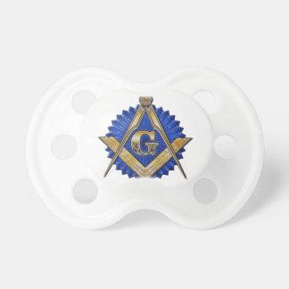 Blue Lodge Mason Pacifiers