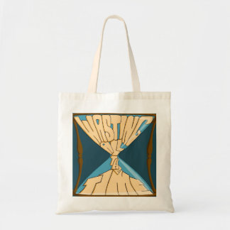 Blue Logo Tote Bag