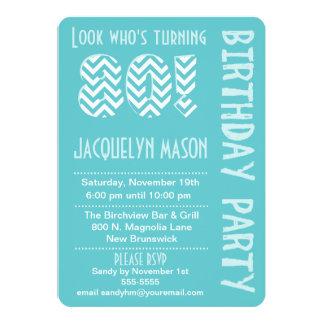 Blue Look Who's Turning 80 Birthday Invitation