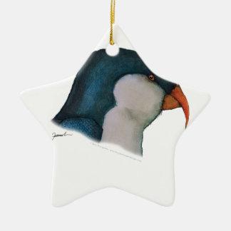 blue lorikeet parrot, tony fernandes christmas ornament