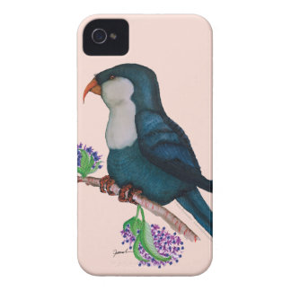 blue lorikeet parrot, tony fernandes iPhone 4 cover