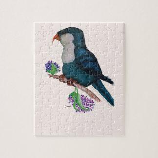 blue lorikeet parrot, tony fernandes jigsaw puzzle