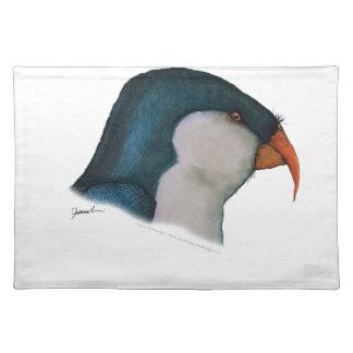 blue lorikeet parrot, tony fernandes placemat