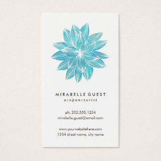 Blue Lotus   Floral Watercolor