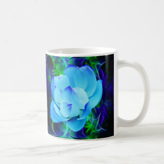 Blue lotus flower and its meaning coffee mug
