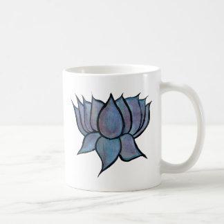 Blue Lotus Flower Coffee Mug