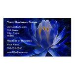 Blue Lotus Flower Pack Of Standard Business Cards