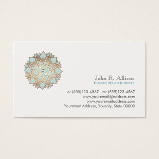 Blue Lotus Holistic Healing Arts and Wellness Business Card