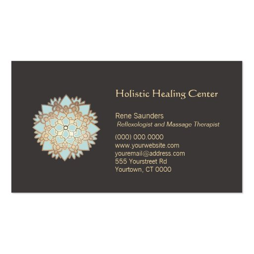 Blue Lotus Holistic Healing Arts Business Card