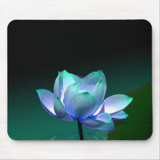 Blue Lotus in full bloom, mousepad