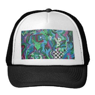 Blue Lounge Mesh Hat