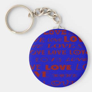 """""""Blue Love"""" keychain by Zoltan Buday"""