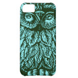 Blue Luck Owl Case For iPhone 5C