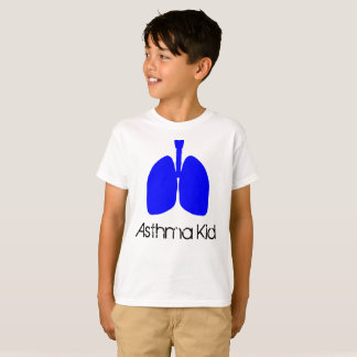 Blue Lungs Asthma Kid Shirt