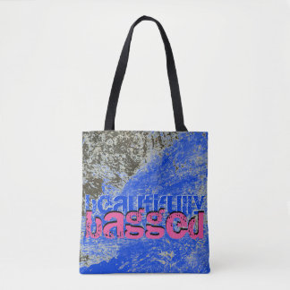 Blue Lyric Tote Bag