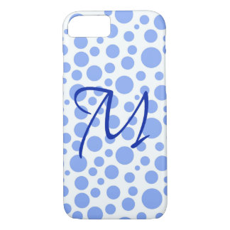 Blue M Barely There iPhone 7 Case