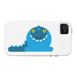 Blue Mad Dragon Case-Mate iPhone 4 Case