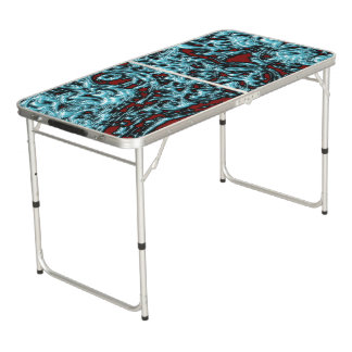Blue Magic Ice Forms Beer Pong Table