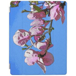 Blue Magnolia iPad Cover