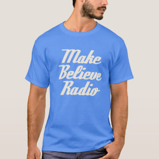 Blue Make Believe Radio Tee