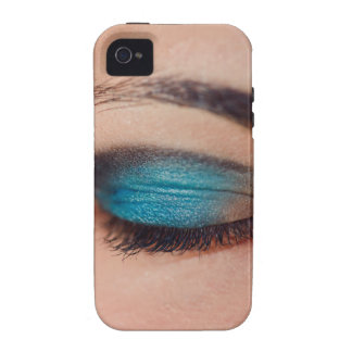 Blue make-up iPhone 4/4S cover