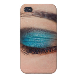 Blue make-up iPhone 4 covers