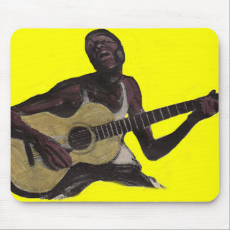 blue man singing the blues mouse pad
