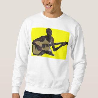 blue man singing the blues sweatshirt