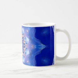 Blue Mandala Coffee Mug