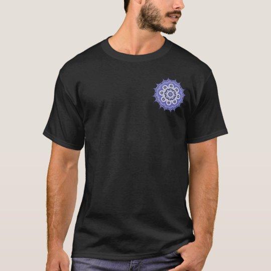 Blue Mandala Fractal 200706072332 T-Shirt