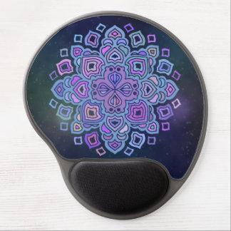 Blue Mandala Gel Mouse Mat
