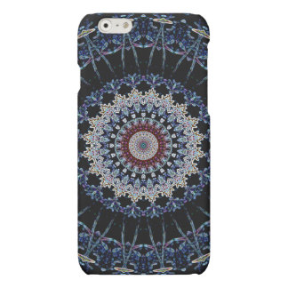 Blue Mandala iPhone 6 Matte Case Savvy iPhone 6 Plus Case