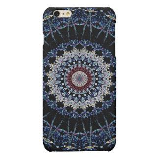 Blue Mandala iPhone 6 Plus Matte Case Savvy iPhone 6 Plus Case