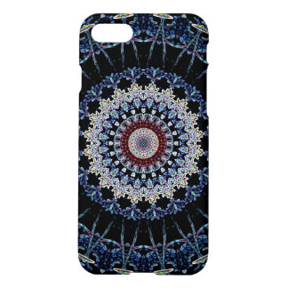 Blue Mandala iPhone 7 Matte Case Savvy