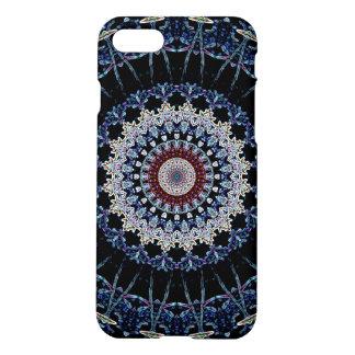 Blue Mandala iPhone 7 Matte Case Savvy